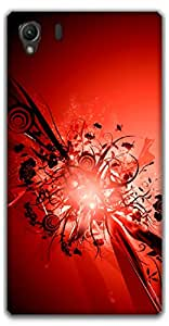 The Racoon Lean Red hard plastic printed back case / cover for Sony Xperia Z1