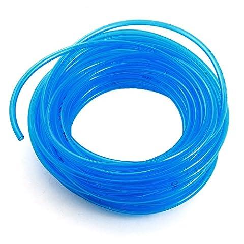 15M Clear Blue Polyurethane Fuel Gas Pneumatic Air PU Tube