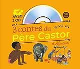 3 contes du p?re castor d afrique 1cd audio