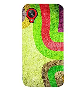 TOUCHNER (TN) Fabric Pattern Back Case Cover for LG Google Nexus 5::LG Google Nexus 5