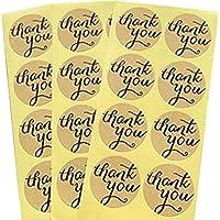 Demarkt Etiquetas Engomadas del Sellamiento Sellos de la Letra del Favor del Boda y del Partido Etiquetas Engomadas del Sellamiento de la Etiqueta del Regalo (Thank You 10 hojas)