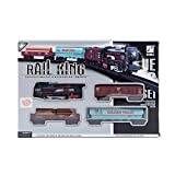 Rail King Train Set With Front LED Light