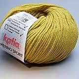 Katia Merino Sport 038 cress green 50g Wolle