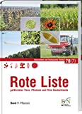 NaBiV Heft 70/7: Rote Liste gefährdeter Tiere, Pflanzen und Pilze Deutschlands - Band 7: Pflanzen -