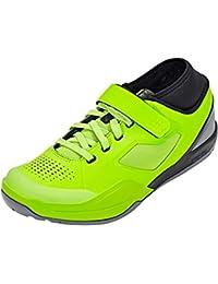 SHIMANO SHAM7PC430SR00 - Zapatillas ciclismo, 43, Verde, Hombre