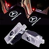 ZNYHUA 2 Stück Autotür Logo Einstiegsbeleuchtung Projektion Licht Türbeleuchtung Projektor Welcome Licht
