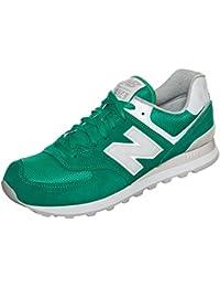 New BalanceMl574 D - Zapatillas Hombre , Verde / blanco