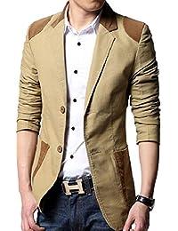 Laruise Hombres del estilo británico business-suit-jackets