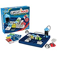 ThinkFun Circuit Maze Electric Current Logic Game and STEM Toy for Boys and Girls Age 8 and Up - Teaches Players About Circuitry Through Fun Gameplay