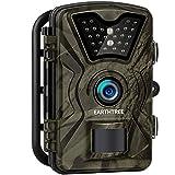 EARTHTREE Neue Version Wildkamera,12MP 1080P Full HD Jagdkamera Low Glow Infrarot 20m Nachtsicht Überwachungskamera 2.4