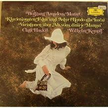 Mozart Klaviersonaten F-dur und A-dur. Clara Haskil. Kempff. Vinyl LP.