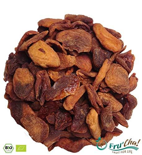 BIO Wilde Aprikosen, sehr aromatisch, leicht sauer, sonnengetrocknet in Rohkostqualität - 500g