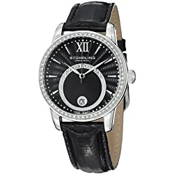Stuhrling Original Dawn Women's Quartz Watch with Dial Analogue Display and Leather Strap