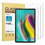 apiker [3 Stück] Schutzfolie für Samsung Galaxy Tab S5e T720 / T725 (10.5 Zoll, Samsung Galaxy Tab S5ePanzerglas mit 9H Härte,Bläschenfrei, 2.5D abger&et Kante,mühelosanzubringen