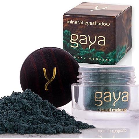 Polvo de Sombras Brillante, Vegano y Mineral – Sombra SH19 100% Natural – Maquillaje Premium Para un Pigmento Único Vibrante y Uniforme – Ideal para Ojos Sensibles – En un Frasco de 2.5 gr