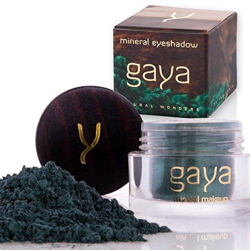 Gaya Cosmetics Vegan Lidschatten Pulver - Mineral Premium Makeup für ein gleichmäßiges homogenes & dynamisches Farbbild (SH19 Shade) -