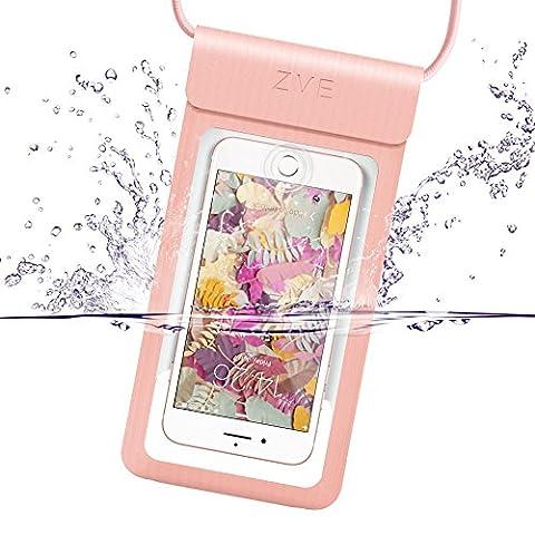 Wasserdichte Hülle tasche, ZVE® Universal IPX8 Wasserdichte Schützhülle Beutel Handyhülle