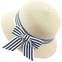 Sombrero del Sol del Verano De Los Niños AIMEE7 Sombrero De Copa del  Sombrero De Paja 6c8194bdcae