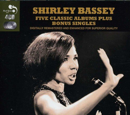 5 Classic Albums Plus (Shirley Bassey-cd)