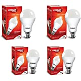 Eveready Base B22 14W Pack Of 2 With 5W Pack Of 2 LED Bulb Combo