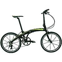 Dahon Nu SL11 Vélo Pliable Mixte Adulte, Sable Lime, Taille 20