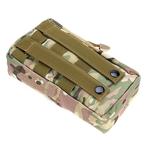 """Anmas Box 8 4.75 2"""" Militär Nylon Außen Armee Gürteltasche Beutel-fall CP"""