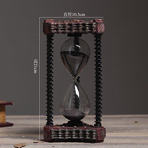 Preisvergleich Produktbild BEEST-Retro Sanduhr Ornamente Creative Desktop Dekoration Einrichtung Einrichtung Bar, Tuba, 5 B
