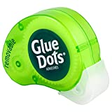 Glue Dots GD03669T Abroller, Removable 200, vielseitig verwendbare (farblich sotiert)