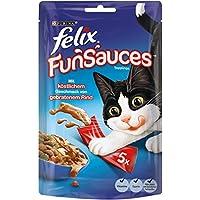 Felix Snacks Funsauces Rindgeschmack, 5er Pack (25 x 15 g)