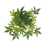 non-brand MagiDeal Terrarium Pflanzen Künstlich Hängepflanze Kunststoffpflanze - Typ 2, 30 cm