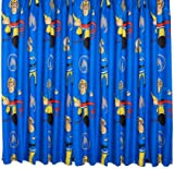 Character World 54-inch Fireman Sam Rescue Curtains