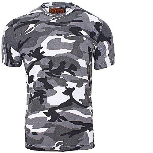 Unbekannt CN3 Game T-Shirt Army Militär Camo Camouflage Outdoor Armee Urban L (T-shirt Gelben Militär Armee)