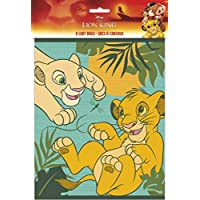 Disney Lion King Party Loot Bags, 8 Ct.