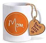 #10: TiedRibbons Mothers day gifts from son Coffee Mug(325 ml) with Tag
