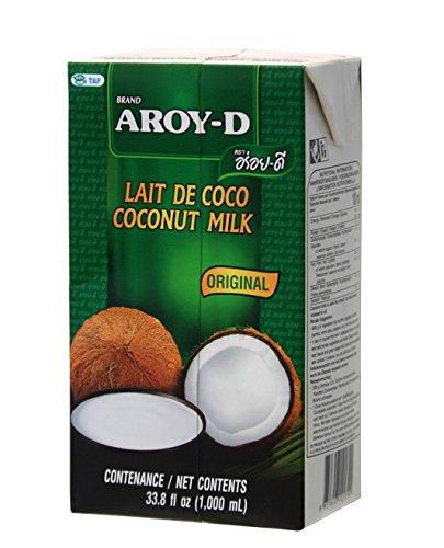Aroy-D Kokosnussmilch, ohne Konservierungsstoffe 12 x 1L