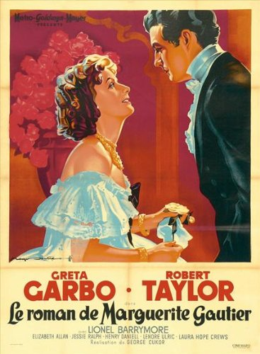 Camille Plakat Movie Poster (27 x 40 Inches - 69cm x 102cm) (1937) French