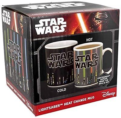 Star Wars mug décor thermique Lightsaber