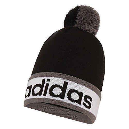 adidas-2015-climaheat-pom-pom-beanie-mens-golf-bobble-hat-black