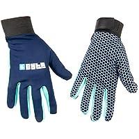 Byte - Guantes de Hockey, Color Azul Marino, Color Azul Marino, tamaño X-Small