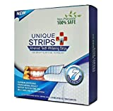 Whitening Strips Zero Peroxide Fluoride Free Whiten Teeth Enamel Safe Better Than 3D Crest or HiSmile Whitener Kits