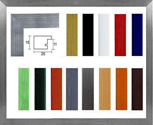 Marina Echtholz Bilderrahmen 19 x 29 cm Massivholz schlicht elegant 29x19 cm Farbauswahl in 14...