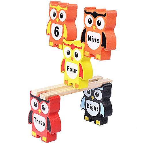 Kleinkinder Lernspielzeug Erwachsene klassische pädagogische entsperren Spielzeug Kinder Intelligenz Ruban ineinander verriegelt sechs Mal Zahlenschloss aus Holz Spaß pädagogisches Spielzeug