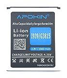 MovilCom Apokin Bateria EB-L1L7LLU para Samsung Galaxy Core LTE | Express 2 | GTi9260 | GT-i9260 | Premier | SMG3815 | SM-G3815 | SMG386F | SM-G386F