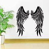 BVTYGH Adesivo Murale Angel Wings Vinile Inspirational Car Window Decal Deco Idee Wall Art Murales 63X57Cm Murales Wall Stickers