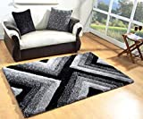 Best Shaggy - Yazlyn Collection Polyester 5D Modern Plain Shaggy Carpets Review