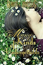 Many Kinds of Unforgettable (Myself in Blue) by Renata F. Barcelos (2014-08-02)