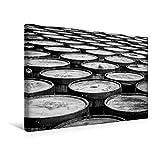 Calvendo Premium Textil-Leinwand 45 cm x 30 cm Quer, Whisky-Fässer, Glenmorangie | Wandbild, Bild auf Keilrahmen, Fertigbild auf Echter Leinwand, Leinwanddruck Orte Orte