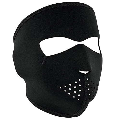 Price comparison product image Zanheadgear Black Neoprene Face Mask
