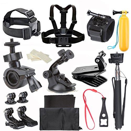 ccbetter-27-in-1-macchina-fotografica-di-azione-di-sport-Accessori-per-GoPro-Eroe-4-Sessione-Eroe-1-2-3-3-con-ccbetter-CS710-CS720W-SJ4000-5000-6000-7000-Xiaomi-Yi-con-valigetta-nera