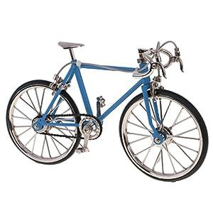 51utIe52S8L. SS300 1/10 Scala Modellini di Bicicletta Modello da Corsa Bici Replica Miniature Casa Bambola Decorazione Giocattoli Bambini…